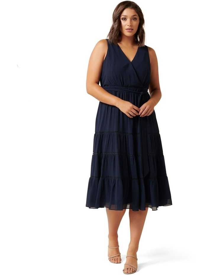 Angelica Curve Tiered Midi Dress image 1