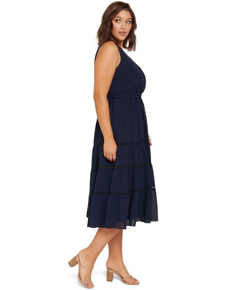 Angelica Curve Tiered Midi Dress image 2