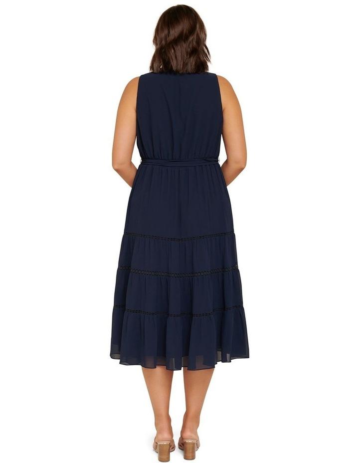 Angelica Curve Tiered Midi Dress image 3