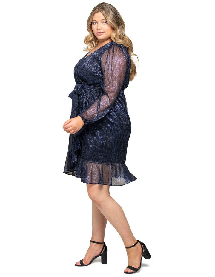 Veronica Curve Plisse Mini Dress image 2