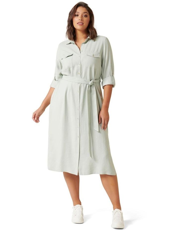 Rory Curve Maxi Shirt Dress image 1