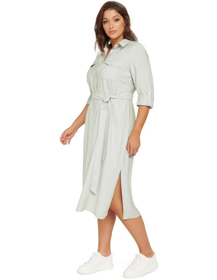 Rory Curve Maxi Shirt Dress image 2