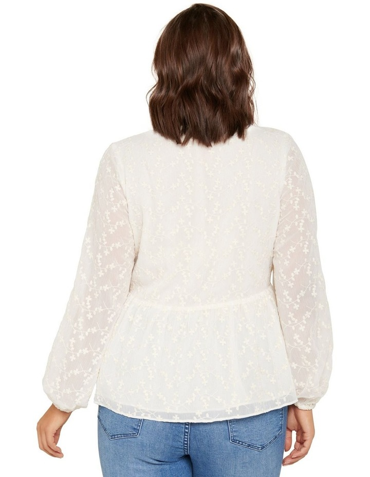 Andrea Curve Embroidered Blouse image 3