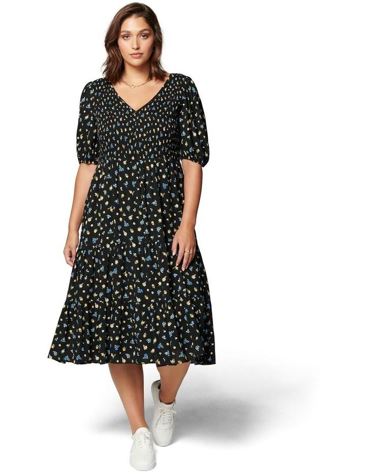 Carolina Curve Tiered Midi Dress image 1