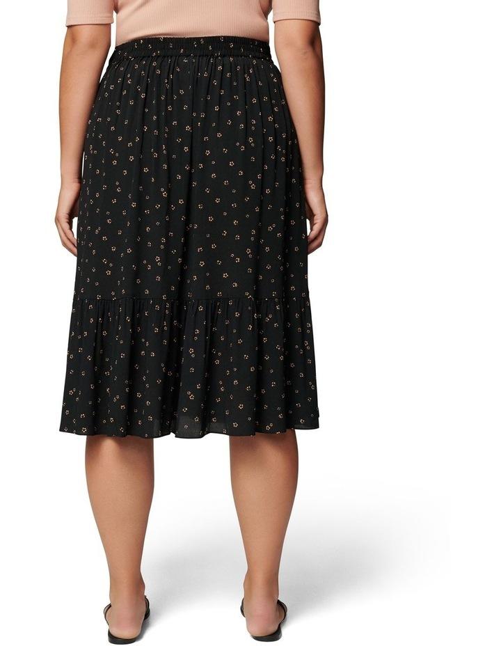 Tatiana Curve Midi Skirt image 4