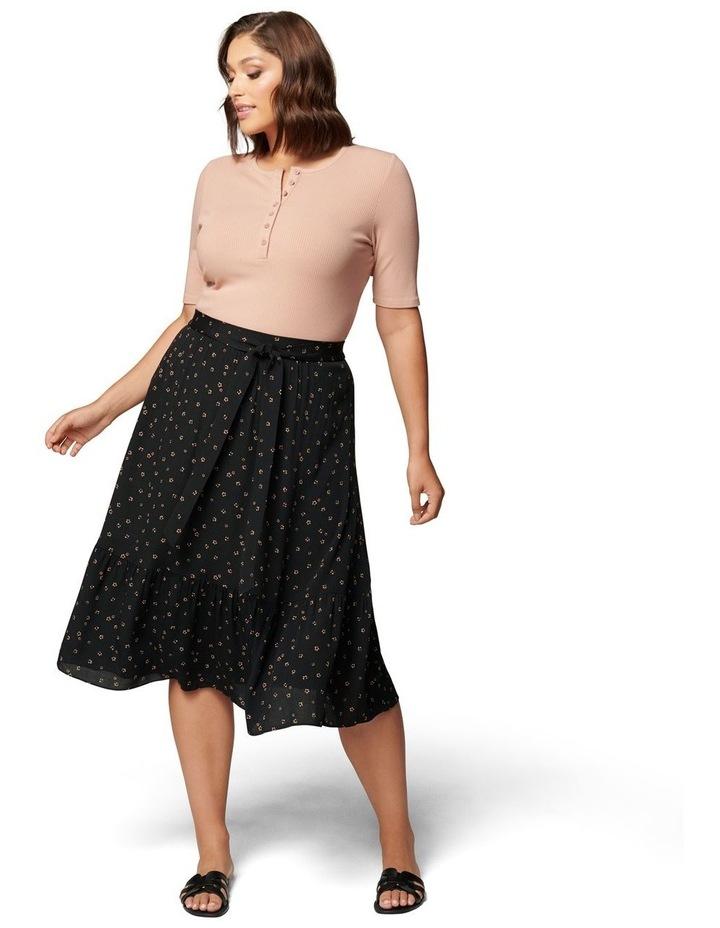 Tatiana Curve Midi Skirt image 5