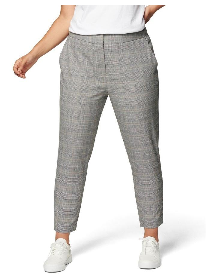 Adeline Curve High Waist Check Pant image 1