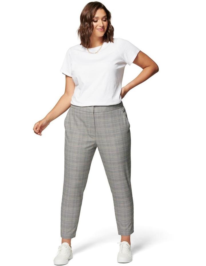 Adeline Curve High Waist Check Pant image 4