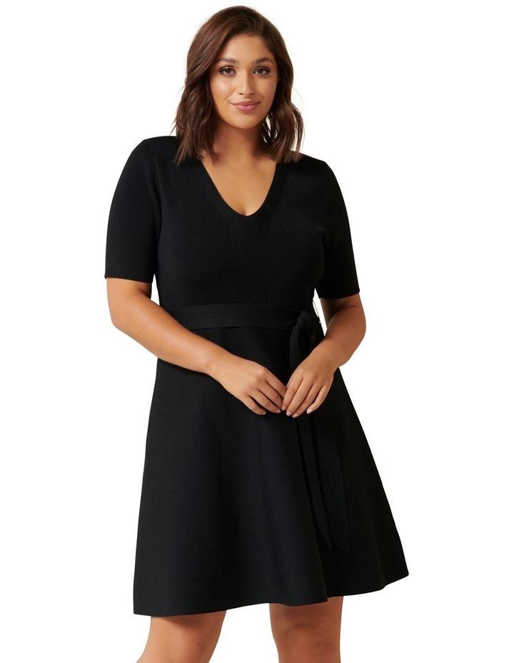 Stephanie Curve Knit Dress image 1