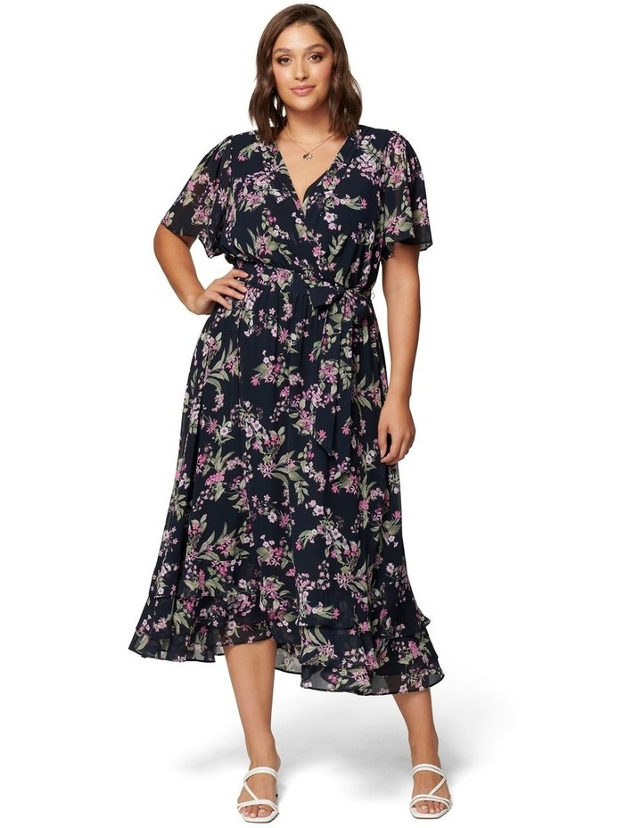 Tillie Curve Pleated Maxi Dress image 1