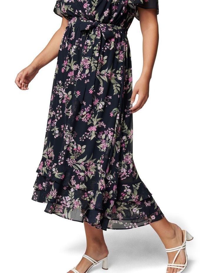 Tillie Curve Pleated Maxi Dress image 2
