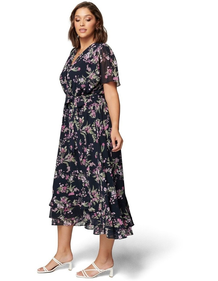 Tillie Curve Pleated Maxi Dress image 3