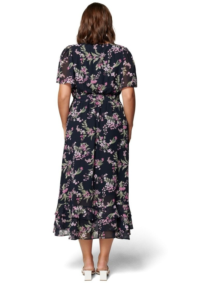 Tillie Curve Pleated Maxi Dress image 4
