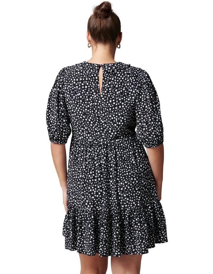 Lisa Curve Collar Smock Dress image 4