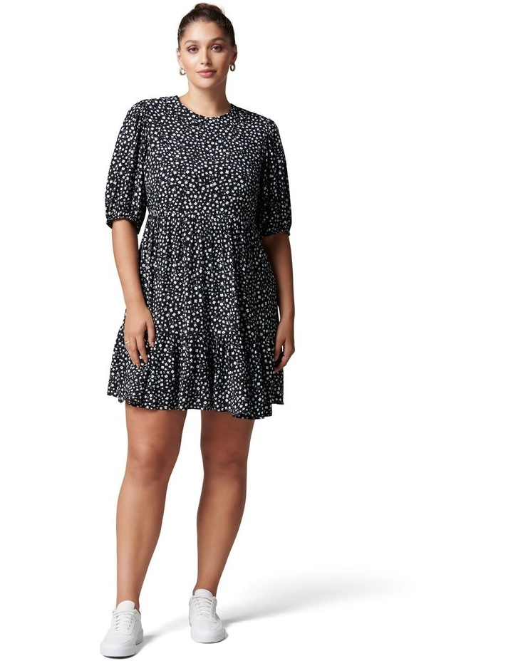 Lisa Curve Collar Smock Dress image 5