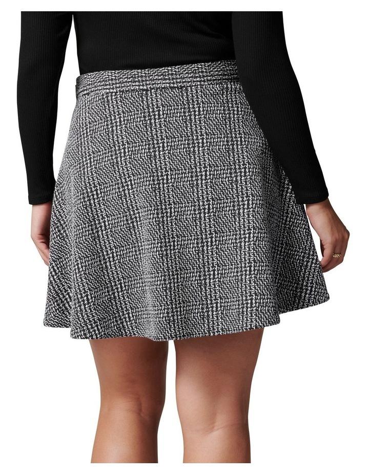Ariel Curve Check Circle Mini Skirt image 4