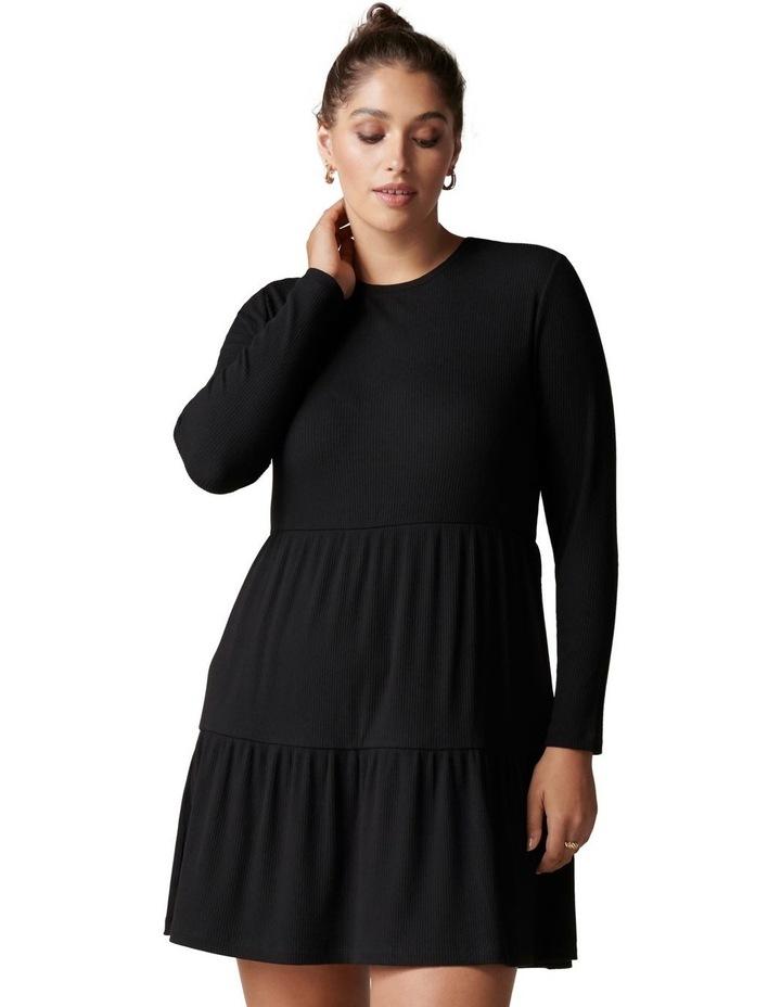 Roxy Curve Long Sleeve Smock Dress image 1