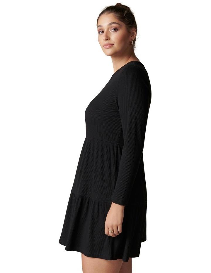 Roxy Curve Long Sleeve Smock Dress image 3