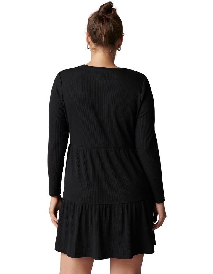 Roxy Curve Long Sleeve Smock Dress image 4