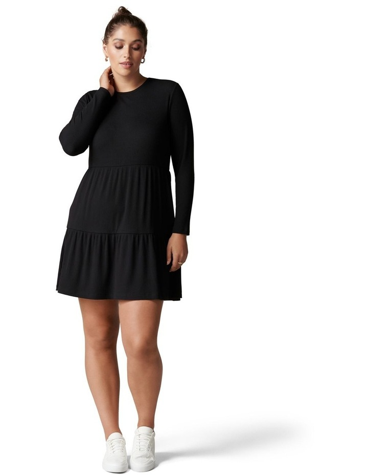 Roxy Curve Long Sleeve Smock Dress image 5
