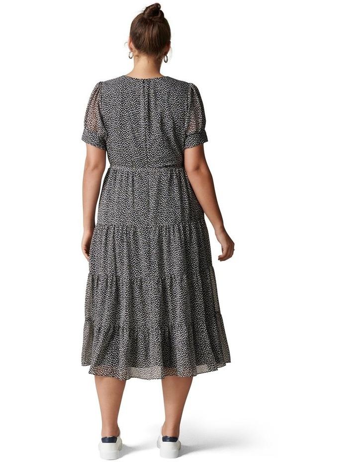 Bryony Curve Tiered Smock Midi Dress image 4