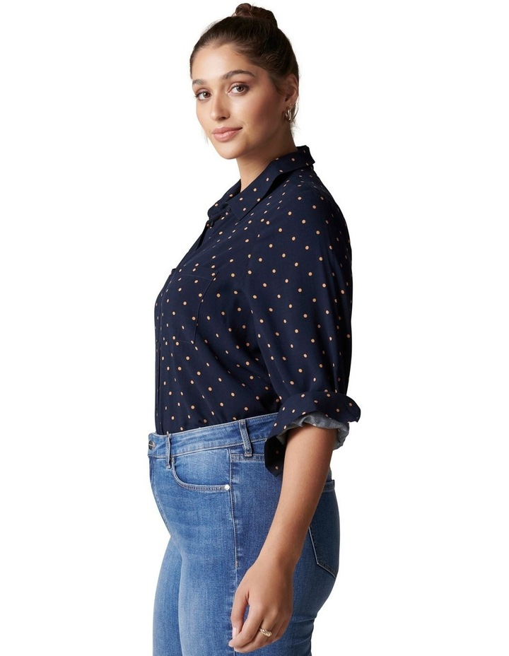 Greer Curve Button Down Shirt image 3