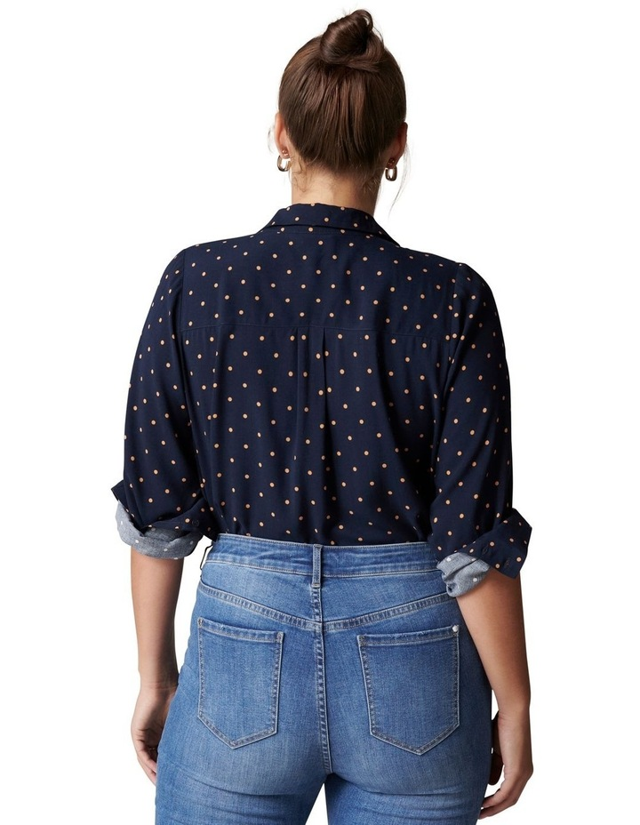 Greer Curve Button Down Shirt image 4