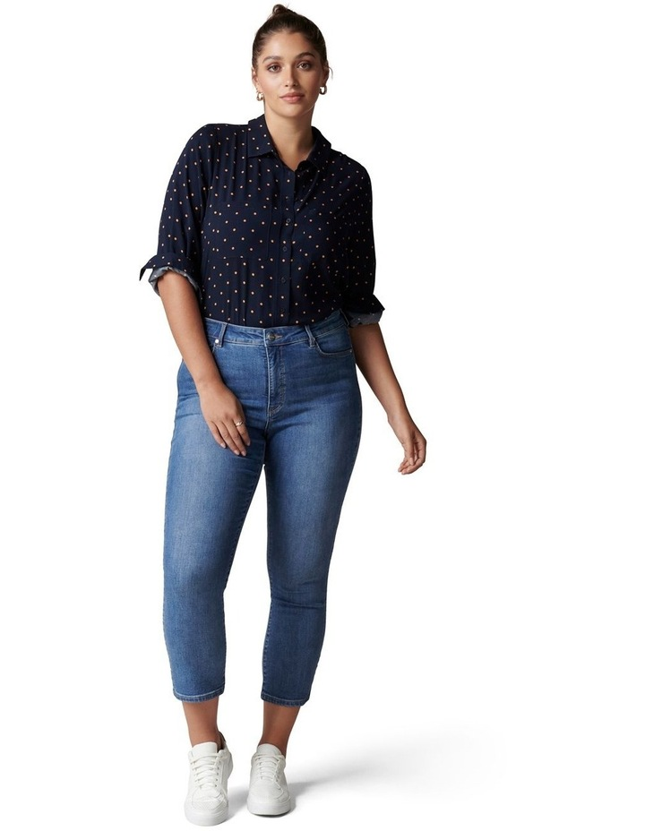 Greer Curve Button Down Shirt image 5
