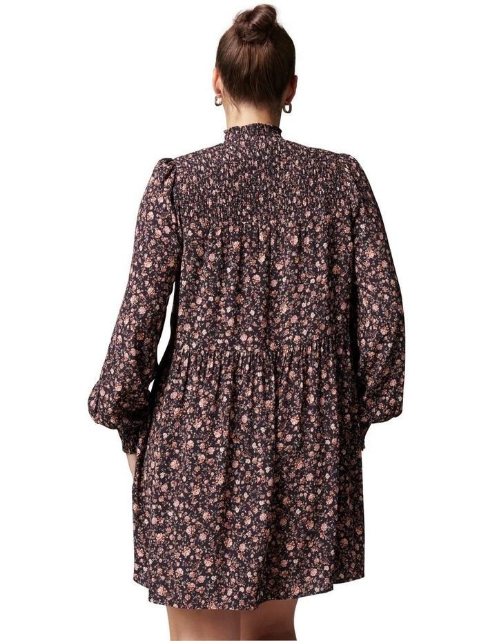 Reese Curve Shirred Yoke Mini Dress image 4
