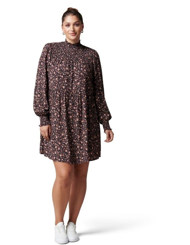 Reese Curve Shirred Yoke Mini Dress image 5