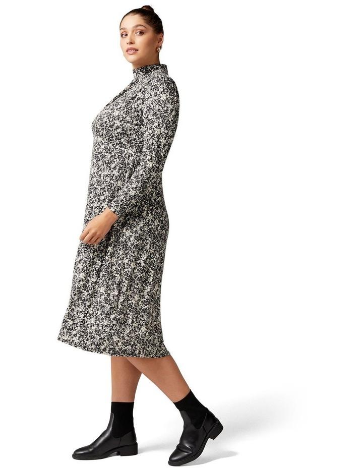 Dawson Curve High Neck Midi Dress image 3