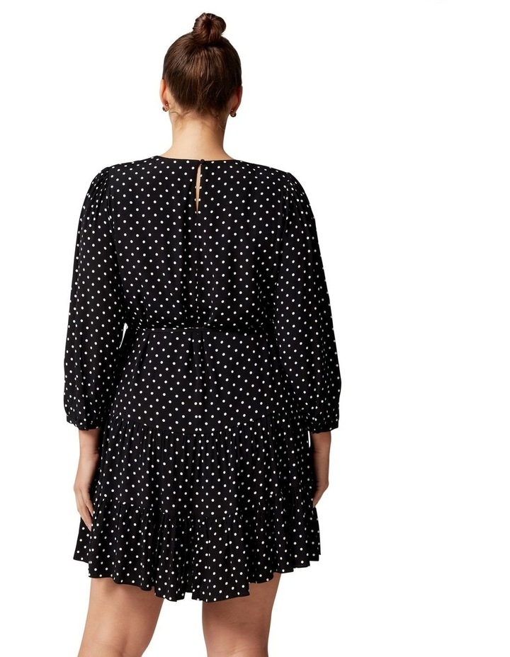 Pacey Curve Dropped Waist Smock Dress image 4