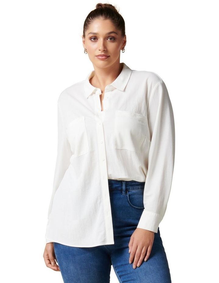 Levi Curve Button Jersey Shirt image 1