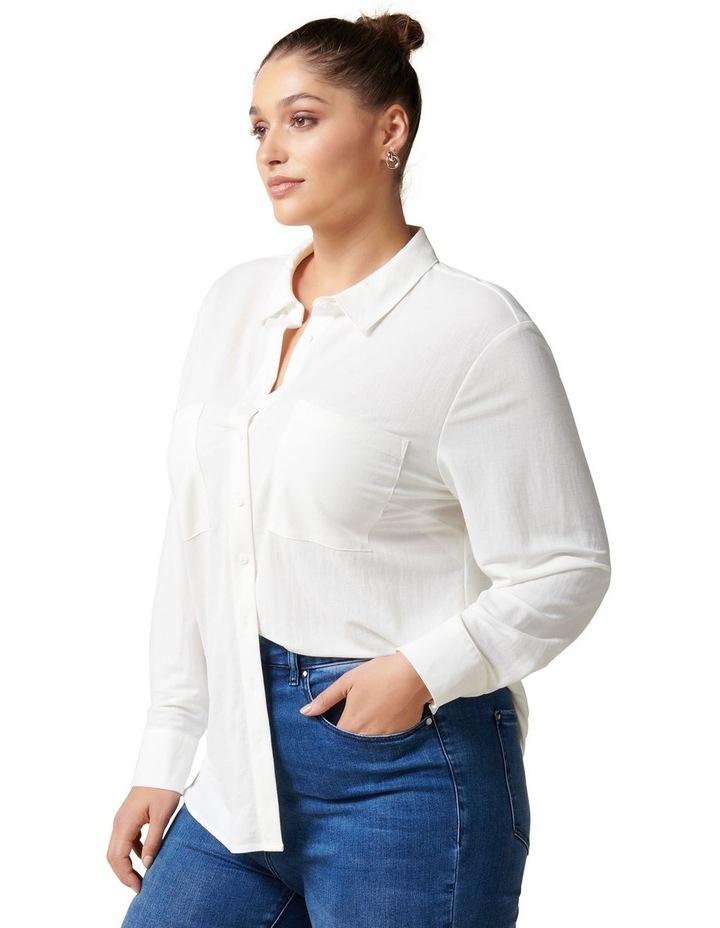 Levi Curve Button Jersey Shirt image 3