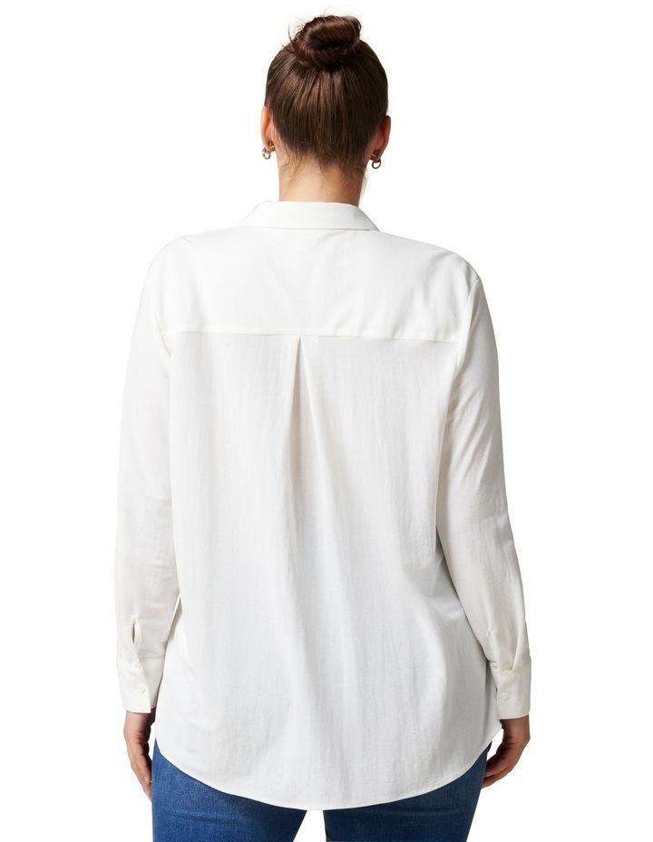 Levi Curve Button Jersey Shirt image 4