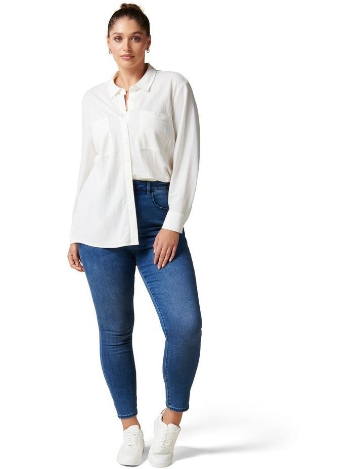 Levi Curve Button Jersey Shirt image 5