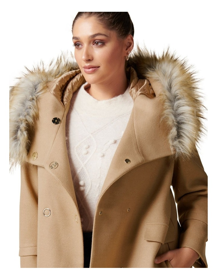 Mila Curve Duffle Coat image 2