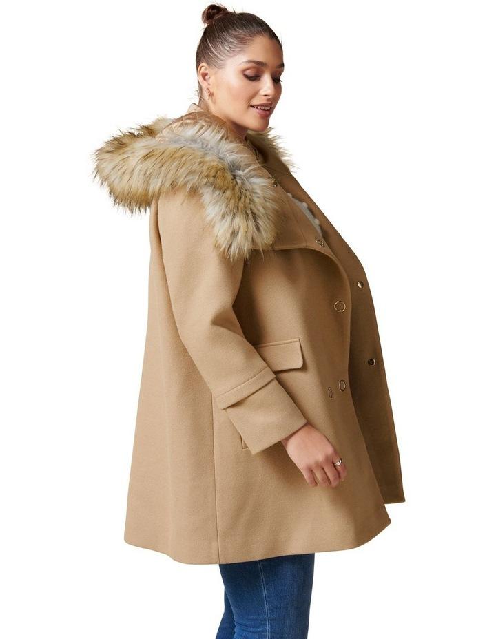 Mila Curve Duffle Coat image 3
