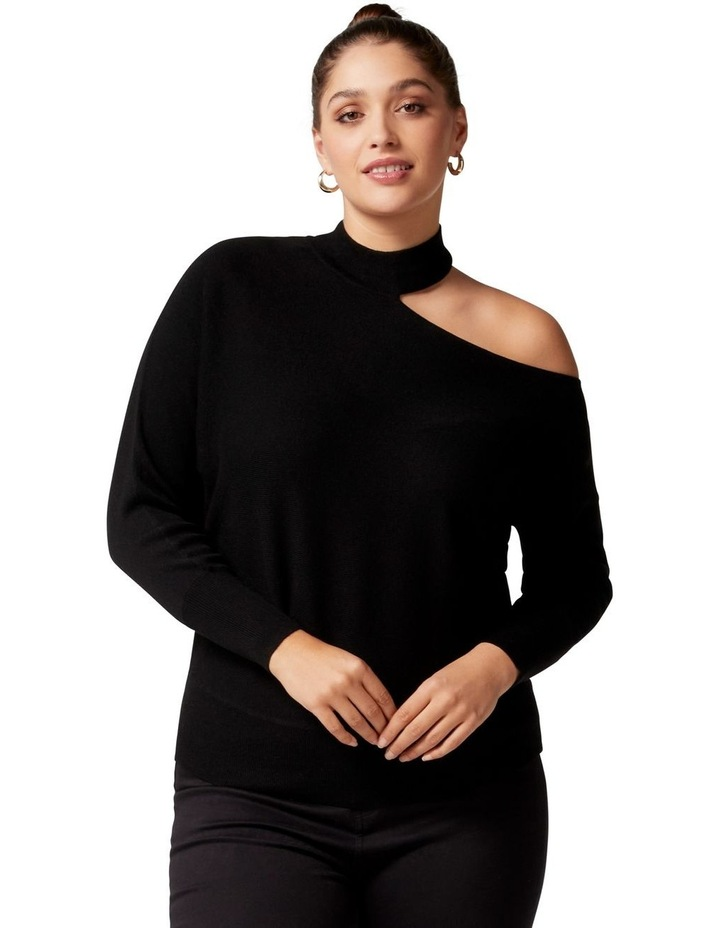 Nelly Curve Cut Out Knit image 1