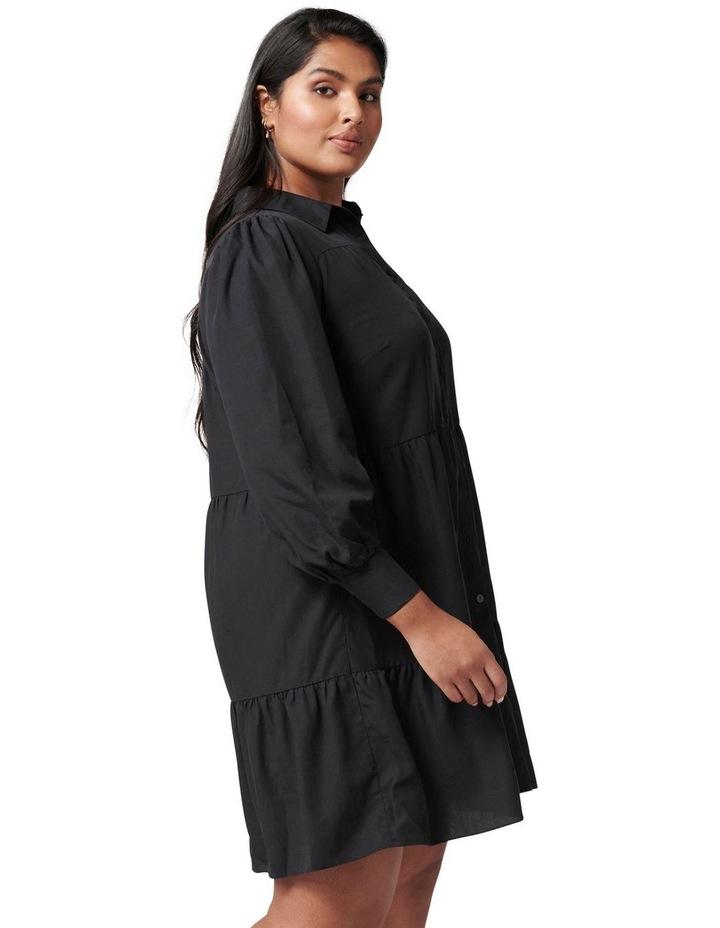 Monica Curve Tiered Smock Dress image 3