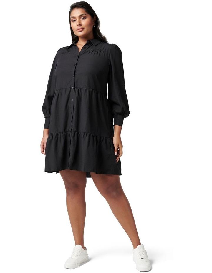 Monica Curve Tiered Smock Dress image 5