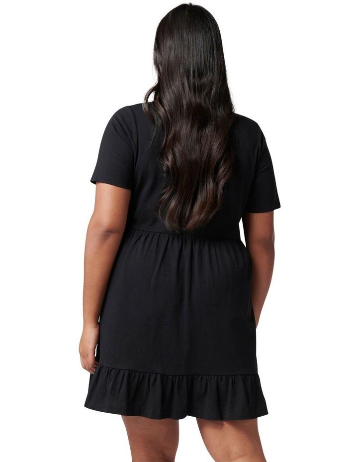 Ivy Curve Jersey Smock Dress image 4