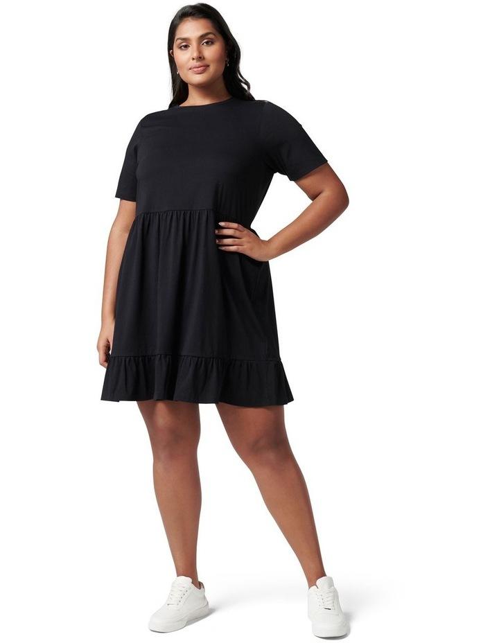 Ivy Curve Jersey Smock Dress image 5