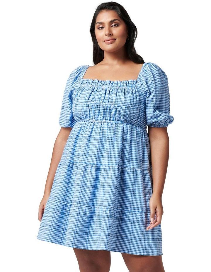 Andie Curve Puff Sleeve Mini Dress image 1