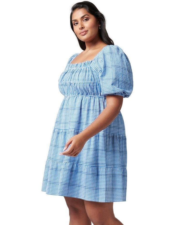 Andie Curve Puff Sleeve Mini Dress image 3