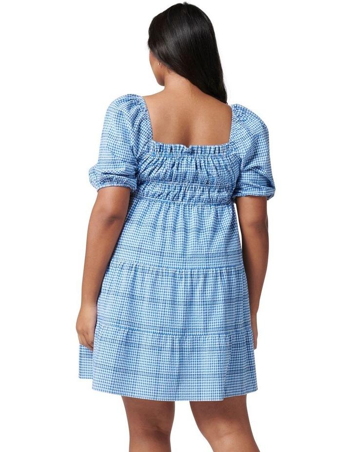 Andie Curve Puff Sleeve Mini Dress image 4