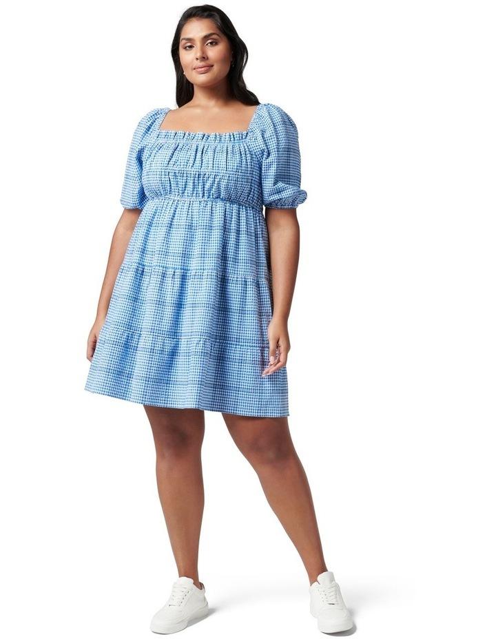 Andie Curve Puff Sleeve Mini Dress image 5