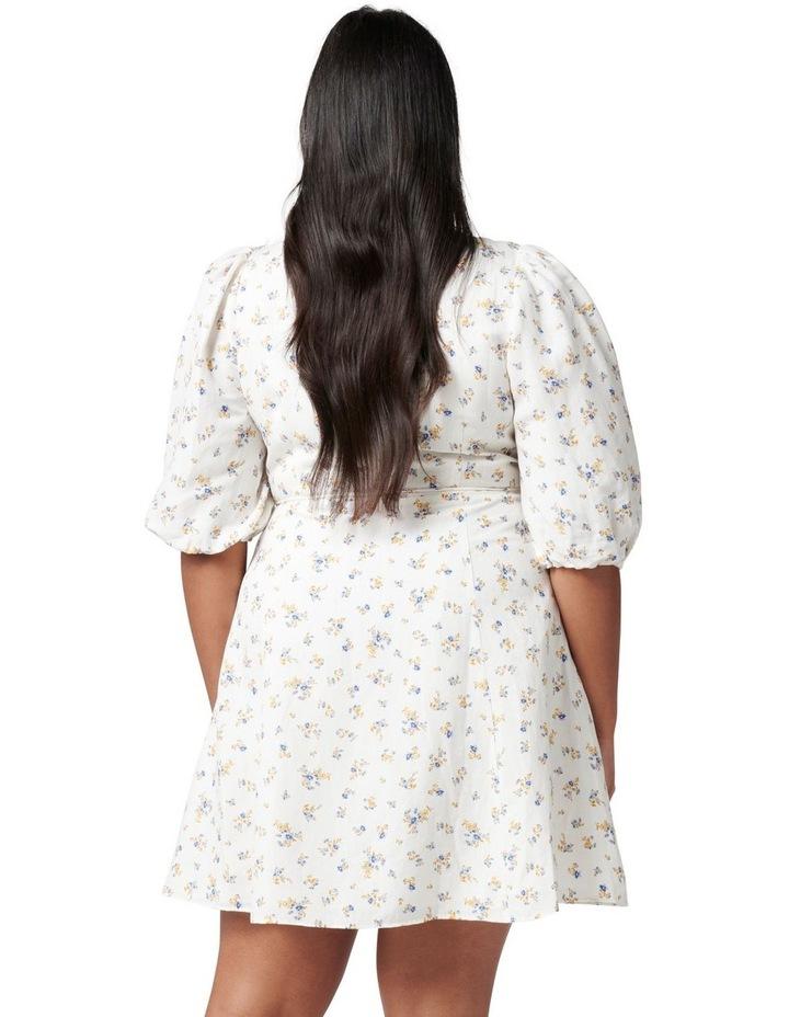 Olivia Curve Wrap Skater Dress image 4