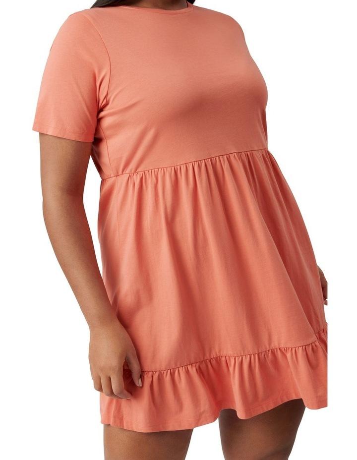 Ivy Curve Jersey Smock Dress Ginger image 2