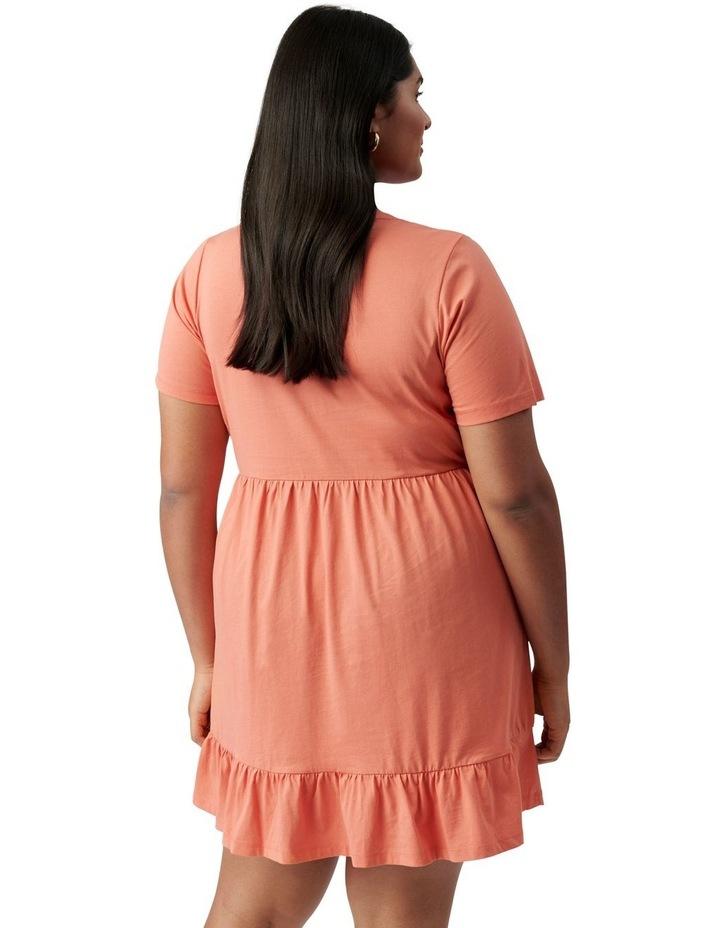 Ivy Curve Jersey Smock Dress Ginger image 4